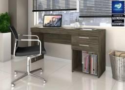 Mesa Office para Escritório/Estudo #FreteGRÁTIS* #Lacrado #Garantia