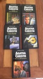 5 livros Agatha Christie - Rainha do crime