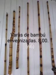 Varas de bambú