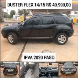 Duster dyn 1.6 14/15 IPVA pago R$ 40.990,00 - 2015