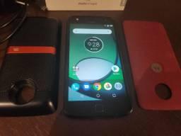 Celular Moto Z Play 32 gb com Moto Snap JBL