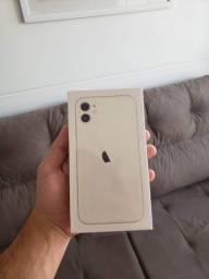 Iphone 11 Branco 64gb [Lacrado, Anatel, NF e 1 ano de garantia]