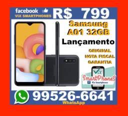 /'\* Lançamento_2020 Samsung A01 32GB preto +*+* 3909jgcgn_-_-_