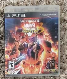 Jogo PS3 Ultimate Marvel vs Capcom 3
