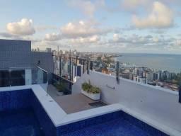 Vendo Linda Cobertura Duplex com 316m2, 4vg, Manaíra,vista para o mar! 1.580.000