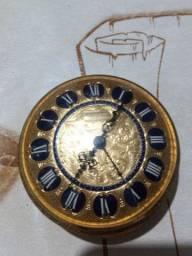 Relógio antigo Ernest Borel Versailles 8 day 15 jewels