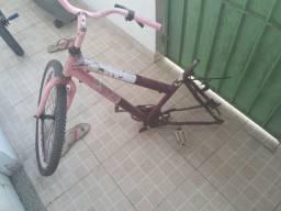 Bike sem o pneu de trás
