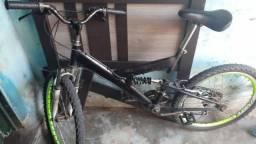 Bicicleta Com Amortecedor Central