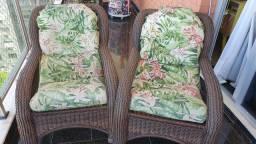 Cadeira para varanda vime