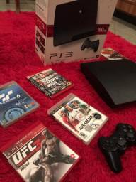 Playstation 3 / ps3 slim / na caixa !
