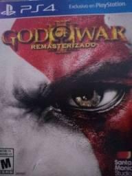 God of war 3 remasterizado ps4 novo
