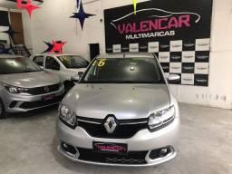 Renault Sandero Dyn 1.6 Aut 2016 IPVA 2021 Grátis e Primeira Parcela Para 90 Dias