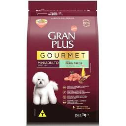 Ração Seca Affinity GranPlus Gourmet Peru & Arroz para Cães Adultos Raças Mini 1K