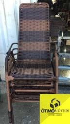 Cadeira de área de vime R$:150,00