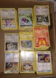 Lote de cartas Pokemon tcg