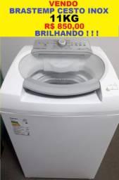 Máquina de Lavar 11Kg Brastemp Ative Cesto de Inox