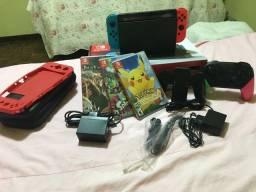 Nintendo Switch completo (usado em ótimo estado)