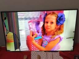 TV Samsung 60pol. - Tela Quebrada!