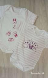 5 Body bebê tamanho M