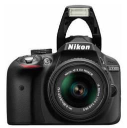 Câmera Nikon D3300 semi novo em perfeito estado.