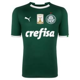 Camisa Palmeiras HOme 19/20 + Patch Campeão 2017