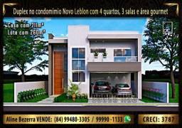Duplex no Novo Leblon com 4 quartos, 3 salas, área gourmet, despensa e depósito
