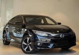 Honda civic 1.5 excelente carro, com melhores taxas e de qualidade