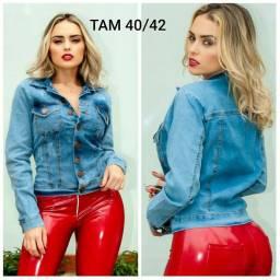 Jaqueta jeans com lycra 38/40/42