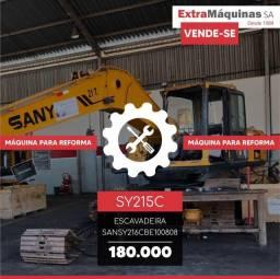Escavadeira Hidráulica | SANY | SY215C | Para reforma