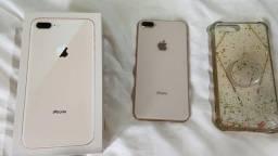 iPhone 8 plus dourado 64  gigas