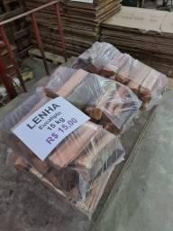 Título do anúncio: Lenha de Eucalipto - Sacos 15 Kg