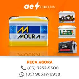 Título do anúncio: Bateria 90 amperes moura hyundai hr, bateria 90 amperes hilux sw4