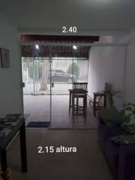 Porta de vidro (medidas na foto)