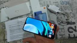 Xiaomi Redmi mi 9T 128gb biometria lateral bateria 6.000mp ótimo pra jogos**