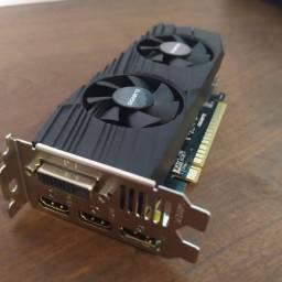Placa de vídeo GTX 1650 D6 OC Low Profile 4GB gddr6