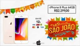 iPhone 8 Plus 64Gb Gold (Contém acessórios e garantia)
