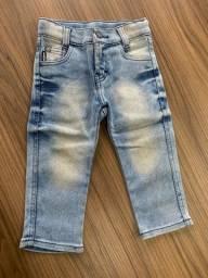 2 Calças jeans infantil menino
