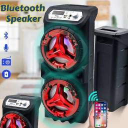 Título do anúncio: Caixa de som 1200W Luz led , 2 altos falantes