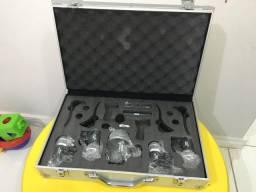 Kit Microfone de Bateria Lyco