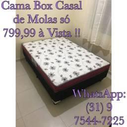 :) CAMA CASAL MOLAS!! CONFORTO PREMIUM!!!
