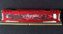 Memoria Ram DDR4 8GB Ballistix