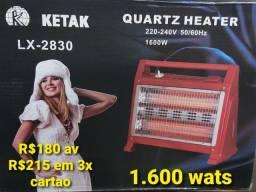 Estufas 1.600 wats