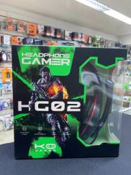 Headset Gamer Com Microfone Ps4 Xbox One e Pc
