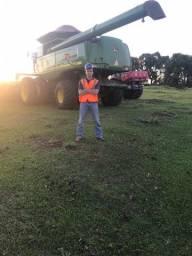 Título do anúncio: Procuro emprego como operador agricola