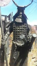Escultura samurai..1000