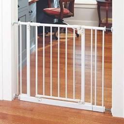 Portão Grade Proteção Pet Classic Para Vão 78 A 83cm Csk Gr3