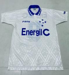 Camisa do Cruzeiro 1996 branca - RARIDADE!
