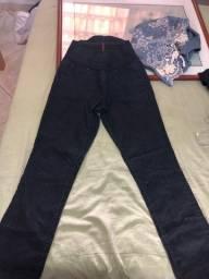 Calça laicra preta cintura alta 38 nova