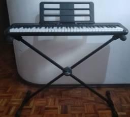 Teclado Musical CASIOTONE CT-S300 Preto 61 Teclas