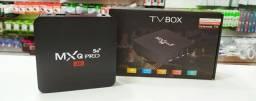 Tv box mxq pro k4 16GB/256GB (teste grátis por 2 horas)